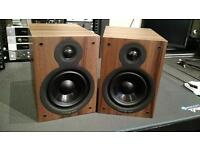 Cambridge audio SX-50 speakers Walnut