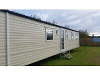 ALMOST NEW,DOUBLE GLAZED,CENTRAL HEATED CARAVAN AT SOUTHERNESS