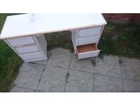 Wooden dressing table | UP-CYCLING PROJECT| BARGAIN collection only