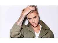Justin Bieber Tickets London O2 Arena 14 and 15 October