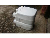 Fiamma Bi-Pot Camp Toilet