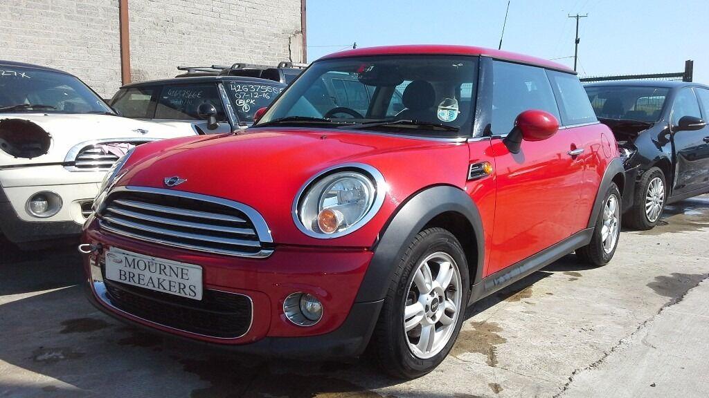 For Breaking 2012 Mini Cooper 16d Diesel Red In