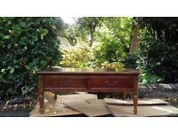 Beautiful Cherry Wood Coffee Table