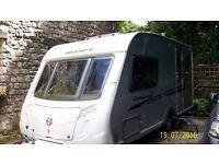 2010 Swift Conqueror Caravan