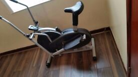 2 in 1 Elliptical Cross Trainer & Bike