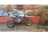 140 thumpstar pit bike cheap sale 170 ovno