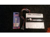 Sony car stereo / c,d. player,