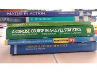 Various Mathematics Text Book (GCSE, A-Level)