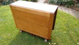 Vintage Gateleg Table with storage space