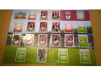 Match Attax bundle- 200+ cards (2012-2017) + Villa Park Play Pitch + 2014 Fifa World Cup Brazil