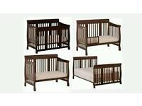 4 in 1 convertible crib to bed