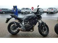 Yamaha MT07 ABS 2016 Matt grey