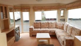BARAGAIN STARTER HOLIDAY HOME STATIC CARAVAN REDUCED KINGFISHER PARK INGOLDMELLS
