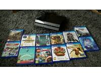 **Ps4 + 12 games+controller* Excellent condition