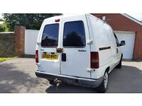 Fiat scudo long mot work shop van great drive central lock remote control key and alarm