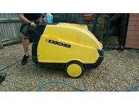 Karcher diesel and electric pressure washer