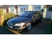 Renault Laguna Estate. 2.0L Dynamique. Black