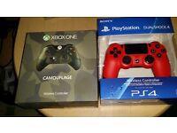 PS4 Dualshock 4 Magma RED £35