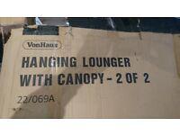 Vonhaus hanging lounger parts