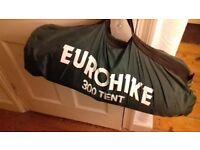 2/3 man Eurohike 300 tent - never used