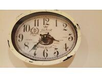 Shabby chic wall clock