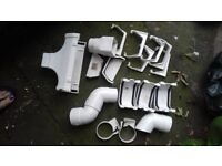 White guttering spear parts