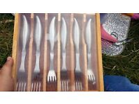 Jean-Patrigue Professional steak forks