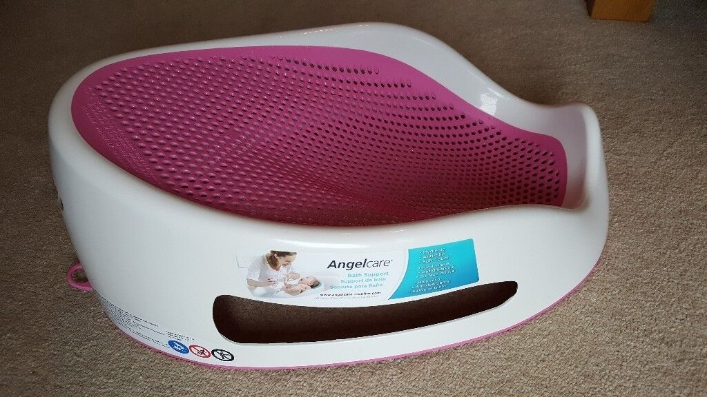 Angelcare bath support, pink. £8