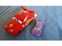 Disney lightning mcqueen car cars teddy toy
