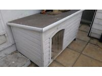 Large wooden dog/cat kennel