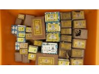 Large quantity available of mainly Vintage Nettlefolds top quality Brass Screws