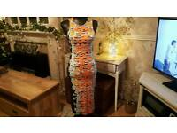 Dress midi size 10 New with tags