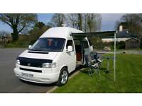 VW T4, LWB, FACTORY HIGH TOP CAMPER