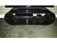 TV stand - black high gloss. Nearest