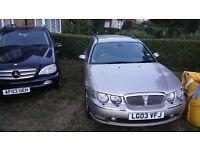 For Sale Rover 75 Club SE CDT 2ltr Tourer estate.