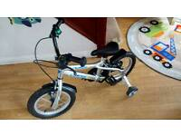 Child's bike plus stabilisers