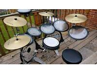 Arbiter Flats Lite double kick drum kit