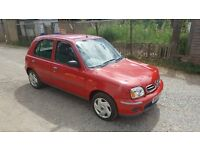 nissan micra 1.0 s automatic 2002