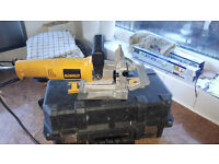 dewalt dw682k biscuit jointer 600 watt used and in good condition includes dust bag and carry case