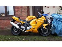 Hyosung gt650r mot October 2006 15000 miles will swap with cash either way