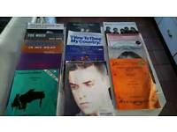 Huge bundle of piano music for sale