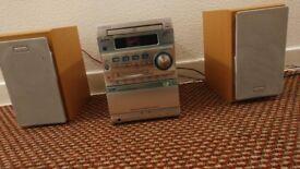 Kenwood Stereo MD, CD, Cassette