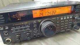 Icom IC737 HF Transceiver (IC-737)