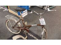 DAWES Kingpin Folding Bike, Sturmey Archer Hub, Fully Serviced By Bike Shop