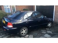 Hyundai Accent 2000 X Reg - Automatic - Last owner 8 Years - Lovely runner