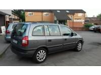 Vauxhall Zafira polish plates,auto,7 seater