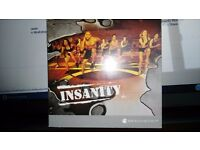 Insanity Workout DVDs Shaun T Beachbody Fitness Keep Fit Tone Muscle Cardio used