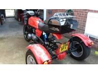 For sale 1993 Kawasaki gt550 trike mot till March 2019,