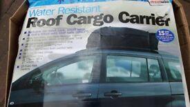 Roof rack carrier
