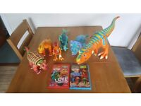 Dinosaur train characters and dvds